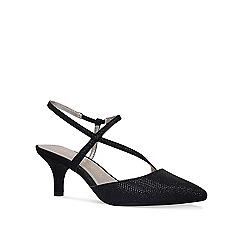 Anne Klein - Black 'Ferdie' mid heel court shoes