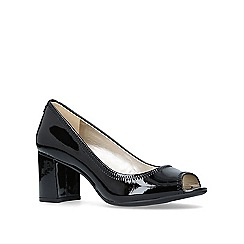 Anne Klein - Meredith high heel peep toe court shoes