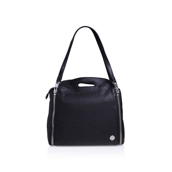 bag shoulder Black Camuto Vince 'Fiel Satchel' cBnWzUHIqp
