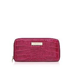 Carvela - Alis croc wallet purse