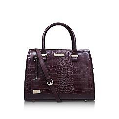 Carvela - 'Holly Croc Zip Bag'