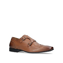 KG Kurt Geiger - Tan 'kirkcaldy' monk shoes