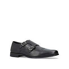 KG Kurt Geiger - Black 'Manning' monk shoes
