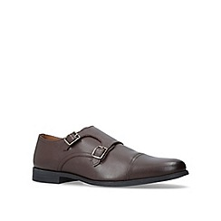 KG Kurt Geiger - Brown 'Manning' monk shoes