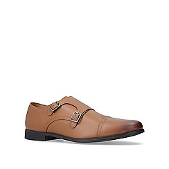 KG Kurt Geiger - Tan 'Manning' monk shoes