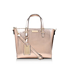 Carvela - Bronze 'Danna2 Winged Tote' tote bag