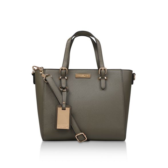 winged bag 'danna2 Carvela tote' Khaki ZOvH8H