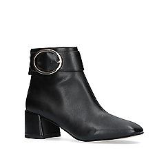 KG Kurt Geiger - Black 'dilly' high heel ankle boot.