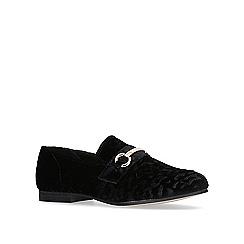 KG Kurt Geiger - Black 'galore' flat loafers.