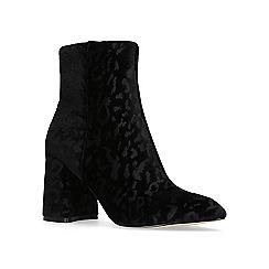 KG Kurt Geiger - Black 'Dollar' high heel ankle boots