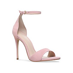Carvela - Nude 'glimmer' high heel sandals