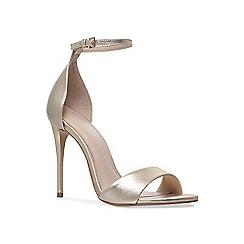 Carvela - Gold 'glimmer' high heel sandals