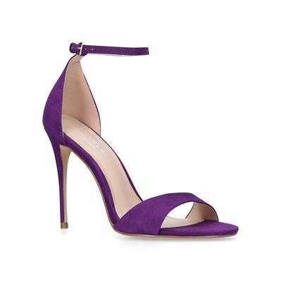 Carvela   Purple 'glimmer' High Heel Sandals by Carvela