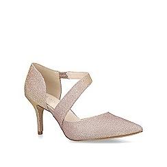 Nine West - Metallic 'Kremi' mid heel court shoes
