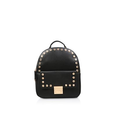 Carvela   Black 'rower Stud Backpack' Studded Backpack by Carvela