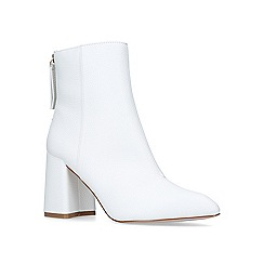 Miss KG - White 'secret' high heel ankle boots