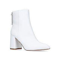 Miss KG - White 'secret' high heel ankle boots