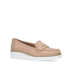 Carvela - Nude 'Mile' low heel loafers