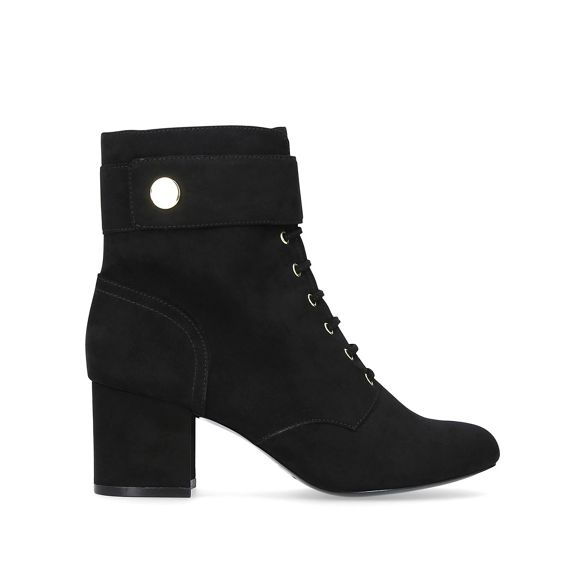 heel Nine mid boots Querna' ankle West xq0wCA0tH