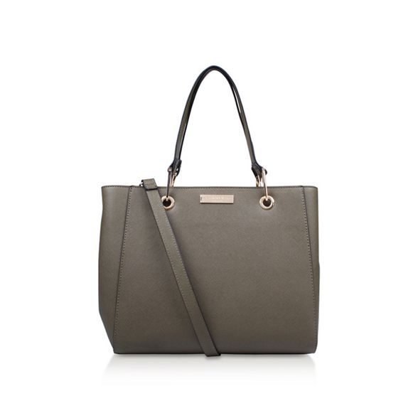 Reign Zip Carvela Structured bag Tote xHw8q1w