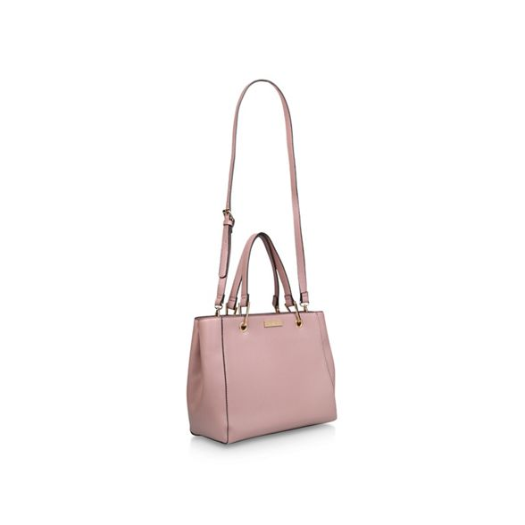Tote' Zip bag Carvela tote Structured Pink 'Reign O74OnxIT