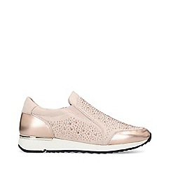 Carvela - Nude 'Jazz' slip on trainers