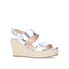 Carvela - Bliss mid heel wedge sandals