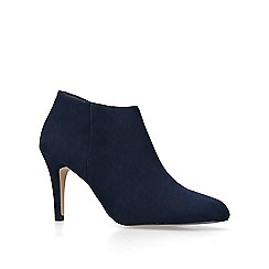 Carvela - Navy 'serene' high heel ankle boots