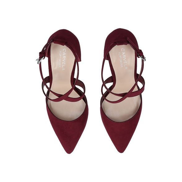 Carvela high Wine 'Kross shoes court 2' heel 1xR1rSw