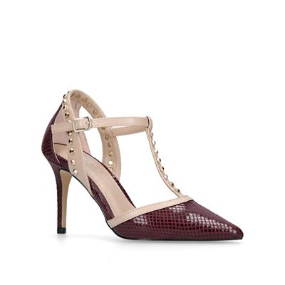 Carvela - Wine 'Kankan' court shoes