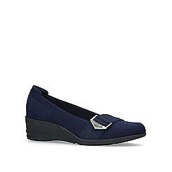 Anne Klein - Blue 'Cici' mid heel court shoes