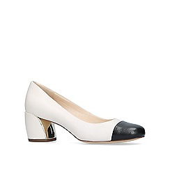 Nine West - White 'Jineya' court shoes