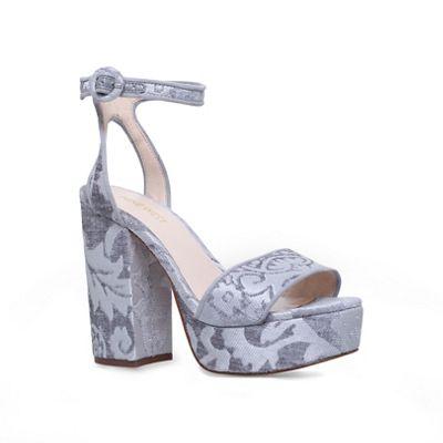 ef22fffae582 Nine West Grey  krewl  ankle strap sandals