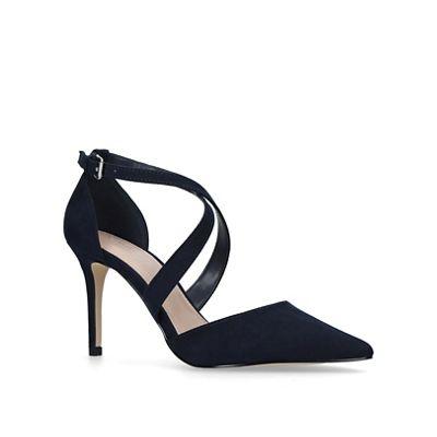 c98313ed4a4e Carvela - Navy  Kross3  high heel court shoes