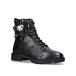 Miss KG - Seren' ankle boots with floral embellishments