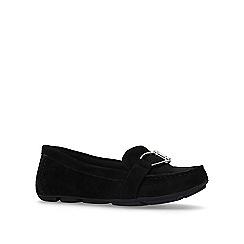 Anne Klein - Black 'petra' flat slip on loafers