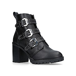 Miss KG - Saxon high heel biker boots