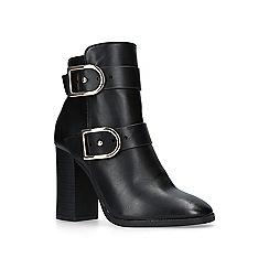 Miss KG - Black 'spring' high heel ankle boots