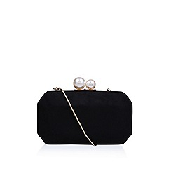 Carvela - Black 'Gloat' clutch bag