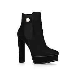 KG Kurt Geiger - Black 'Radar' ankle boots