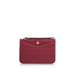 Anne Klein - Red 'Frances Md Wristlet' clutch bag