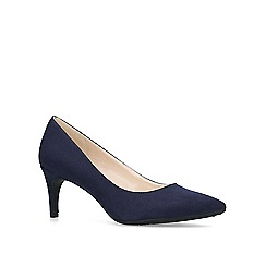 Nine West - Blue 'Erika' mid heel court shoes