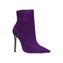 Carvela - Purple 'Spectacular' high heel ankle boots