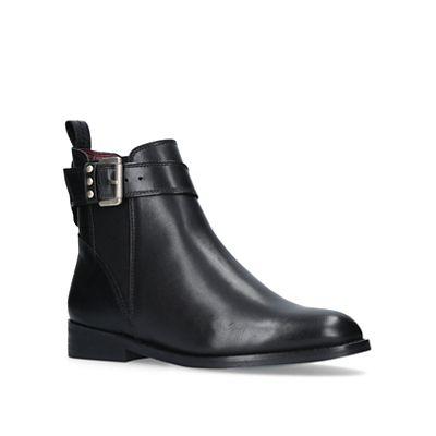 KG Kurt Geiger - Black boots 'Rusty' low heel chelsea boots Black 575e20