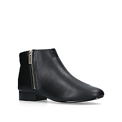 Carvela - Black 'Shift' flat ankle boots