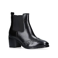 Carvela - Black 'Shake' mid heel ankle boots