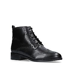 Carvela - Black 'Toby' flat lace up boots
