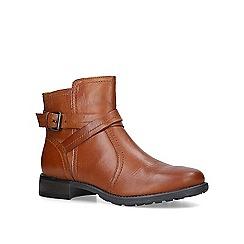 Carvela - Tan 'Tucker' low heel ankle boots