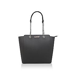 Carvela - Dark 'Rate Tote With Part Chain' grey tote bag