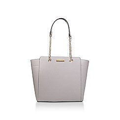 Carvela - Grey 'Rate Tote With Part Chain' tote bag
